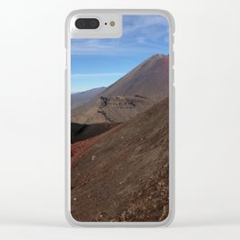 Mount Doom Clear iPhone Case