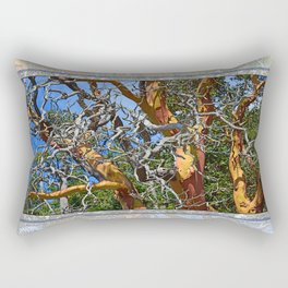 MADRONA TREE DEAD OR ALIVE Rectangular Pillow