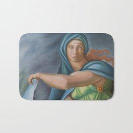 Sibila Delphica. Sistine Chapel. Michael Angelo. Bath Mat