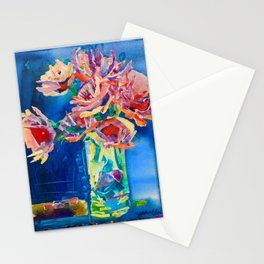 Study In Blue Stationery Cards