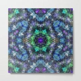 Cosmos Kaleidoscope Metal Print