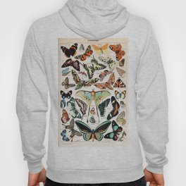 Adolphe Millot - Papillons pour tous - French vintage poster Hoody