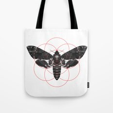Sacred Death's-head Hawkmoth Tote Bag