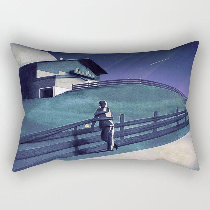 Waiting for you Rectangular Pillow