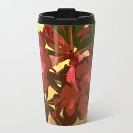 Beautiful Excotic Flowers Travel Mug