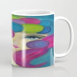 Blue Face Girl w/o Quote Coffee Mug