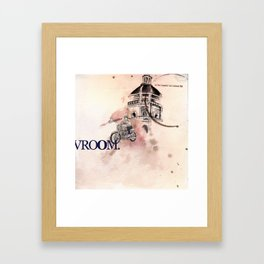 Vroom Framed Art Print