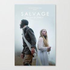 SALVAGE Poster Canvas Print