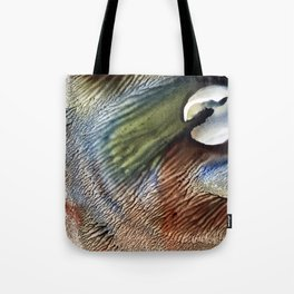 cracked moon Tote Bag