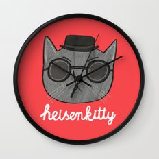 Heisenkitty Wall Clock