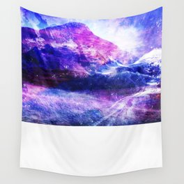 Abstract Mountain Landscape Wall Tapestry