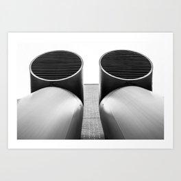 Air - Duct - Pipe Art Print