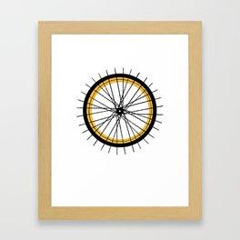 RIDE & SHINE Framed Art Print