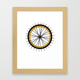 RIDE & SHINE Framed Art Print