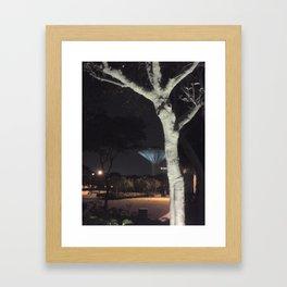 creepy park Framed Art Print