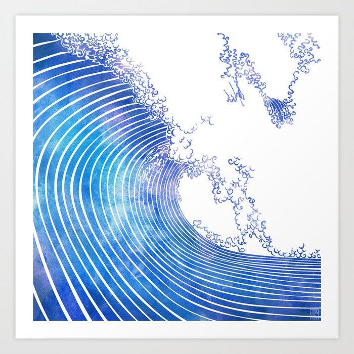 Pacific Waves III Art Print