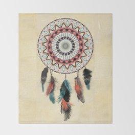 Mandala Dream Catcher Throw Blanket
