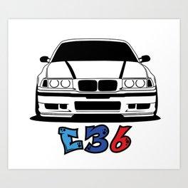 Low Car New Edition Art Print