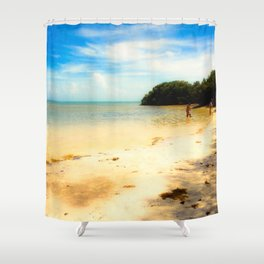 The Florida Keys, Anne's Beach Shower Curtain