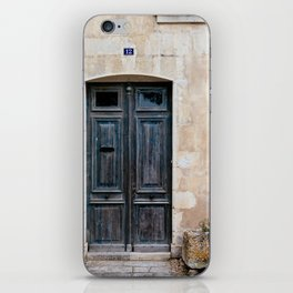 Old fashioned door iPhone Skin