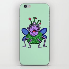 Fly Monster iPhone Skin