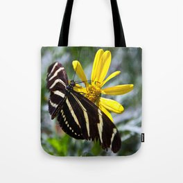 Zebra Longwing Feeding Tote Bag
