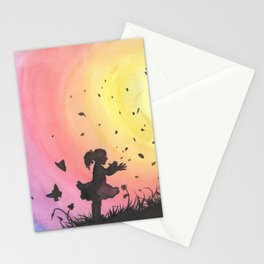 Surrounded By Love / Les Papillons Stationery Cards