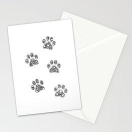 Cat tracks Stationery Cards