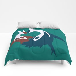 Latios & Latias Comforters