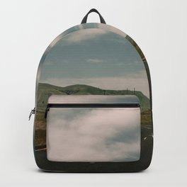 Green Rolling Hills of Central California Backpack