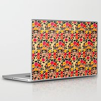 frida Laptop & iPad Skins featuring Frida by Bouffants and Broken Hearts