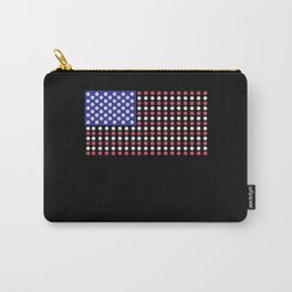 American Flag | Funny Gambling Gift Carry-All Pouch