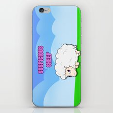 Suspicious Sheep iPhone & iPod Skin