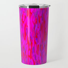 red purple verticals Travel Mug