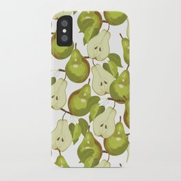 Pears Pattern iPhone Case