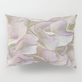 FADED HYDRANGEA CLOSE UP Pillow Sham