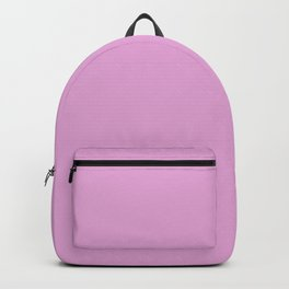 From The Crayon Box – Inspired by Razzle Dazzle Rose - Pastel Purple Solid Color Backpack