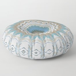 Dreamcatcher Teal Floor Pillow