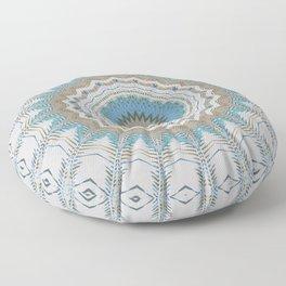 Dreamcatcher Teal Floor Pillow