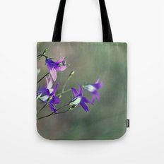 BlueBell Flower Nature Photography  Tote Bag