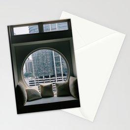 Circular Window Stationery Cards