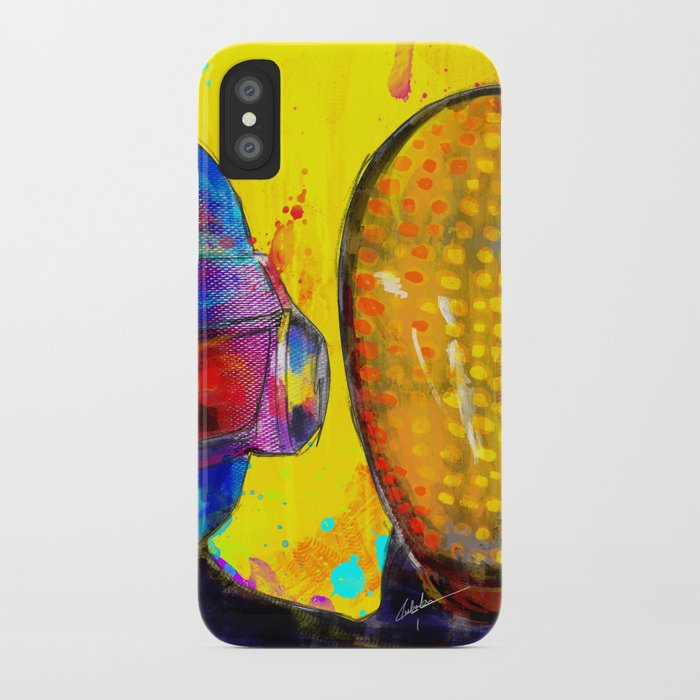 Daft Punk iPhone Case by archann | Society6