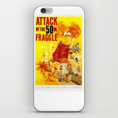 Attack of the 50 Inch Fraggle iPhone & iPod Skin