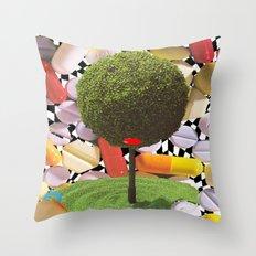 treeism Throw Pillow