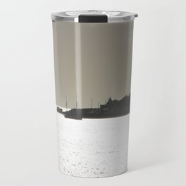 Silver harbor Travel Mug