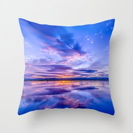 Scottish Sunset Throw Pillow