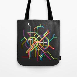 budapest metro map Tote Bag