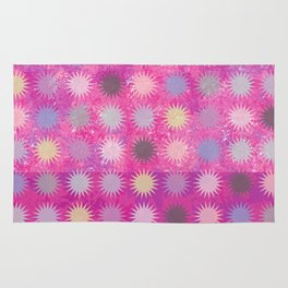 Colorful Sun Pattern II Rug