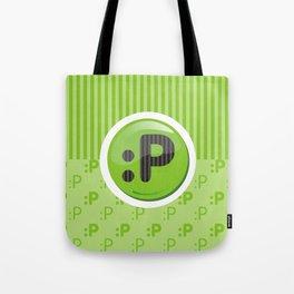 Green Writer's Mood Tote Bag