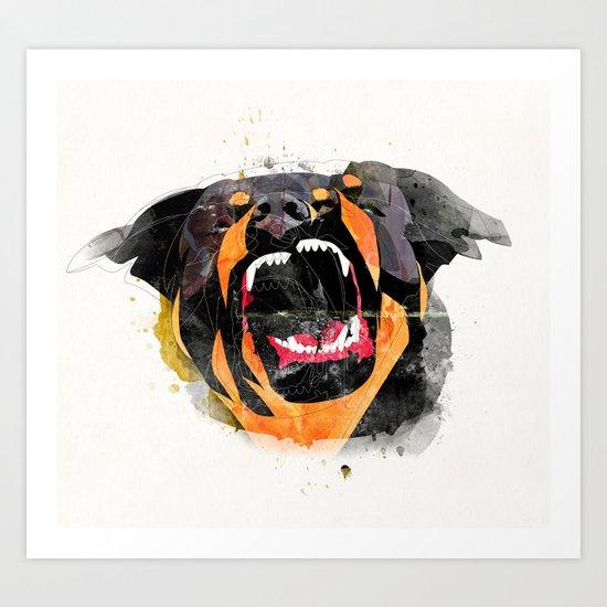 perro Art Print